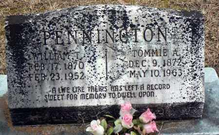 PENNINGTON, TOMMIE A. - Dallas County, Arkansas | TOMMIE A. PENNINGTON - Arkansas Gravestone Photos