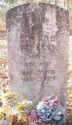 PERKINS (VETERAN), EDWARD - Dallas County, Arkansas | EDWARD PERKINS (VETERAN) - Arkansas Gravestone Photos