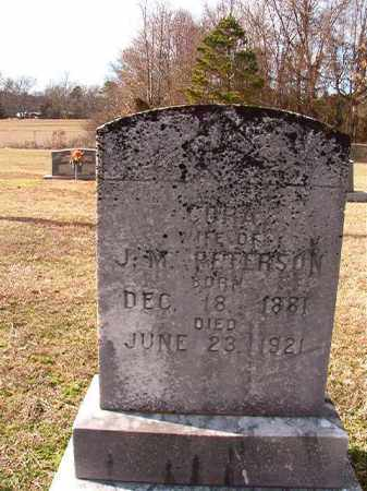 PETERSON, CORA - Dallas County, Arkansas | CORA PETERSON - Arkansas Gravestone Photos