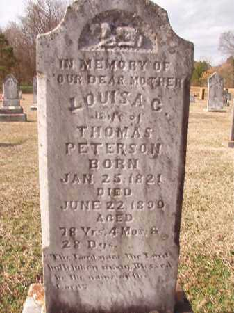 PETERSON (OBIT), LOUISA C - Dallas County, Arkansas | LOUISA C PETERSON (OBIT) - Arkansas Gravestone Photos