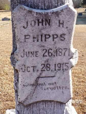PHIPPS, JOHN H. - Dallas County, Arkansas | JOHN H. PHIPPS - Arkansas Gravestone Photos