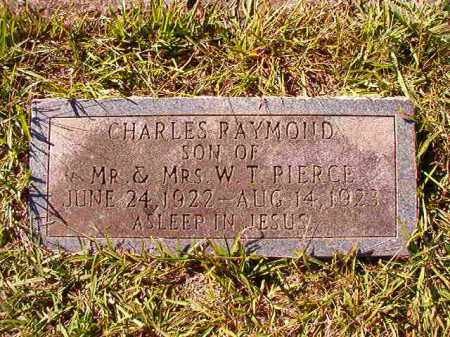 PIERCE, CHARLES RAYMOND - Dallas County, Arkansas | CHARLES RAYMOND PIERCE - Arkansas Gravestone Photos