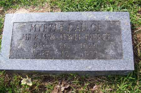 PIERCE, MYRTLE - Dallas County, Arkansas | MYRTLE PIERCE - Arkansas Gravestone Photos