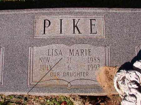 PIKE, LISA MARIE - Dallas County, Arkansas | LISA MARIE PIKE - Arkansas Gravestone Photos