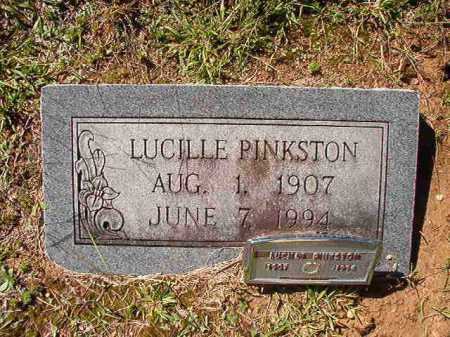 PINKSTON, LUCILLE - Dallas County, Arkansas | LUCILLE PINKSTON - Arkansas Gravestone Photos