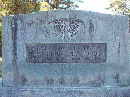 PITTMAN, DAVID HUGH - Dallas County, Arkansas   DAVID HUGH PITTMAN - Arkansas Gravestone Photos