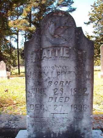 PITTMAN, MATTIE L - Dallas County, Arkansas | MATTIE L PITTMAN - Arkansas Gravestone Photos