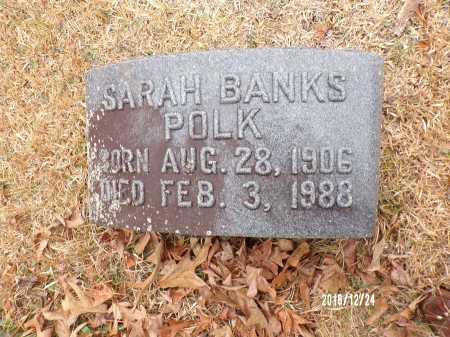 BANKS POLK, SARAH - Dallas County, Arkansas | SARAH BANKS POLK - Arkansas Gravestone Photos