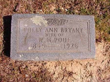 POOL, POLLY ANN - Dallas County, Arkansas | POLLY ANN POOL - Arkansas Gravestone Photos