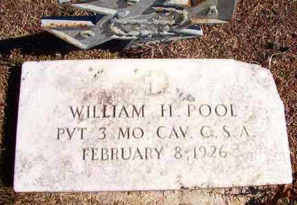 POOL (VETERAN CSA), WILLIAM H - Dallas County, Arkansas | WILLIAM H POOL (VETERAN CSA) - Arkansas Gravestone Photos
