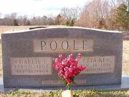 KEY POOLE, ETTA - Dallas County, Arkansas | ETTA KEY POOLE - Arkansas Gravestone Photos