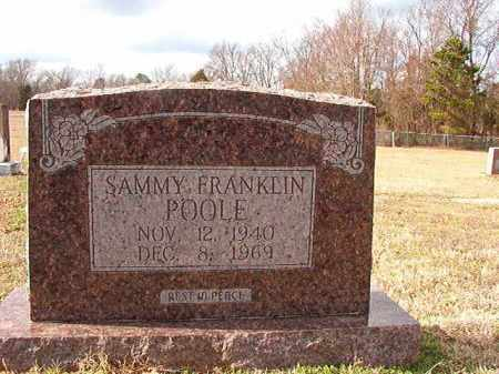 POOLE, SAMMY FRANKLIN - Dallas County, Arkansas | SAMMY FRANKLIN POOLE - Arkansas Gravestone Photos
