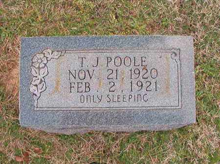POOLE, T J - Dallas County, Arkansas | T J POOLE - Arkansas Gravestone Photos
