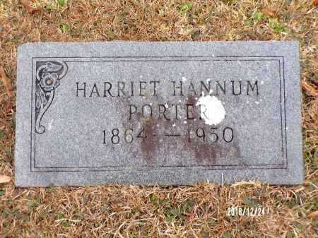 HANNUM PORTER, HARRIET - Dallas County, Arkansas | HARRIET HANNUM PORTER - Arkansas Gravestone Photos