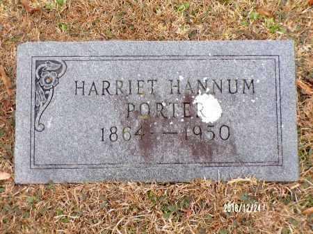 PORTER, HARRIET - Dallas County, Arkansas | HARRIET PORTER - Arkansas Gravestone Photos