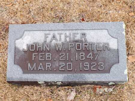 PORTER, JOHN W - Dallas County, Arkansas | JOHN W PORTER - Arkansas Gravestone Photos