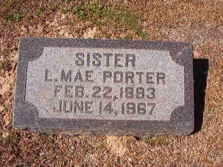 PORTER, L MAE - Dallas County, Arkansas | L MAE PORTER - Arkansas Gravestone Photos