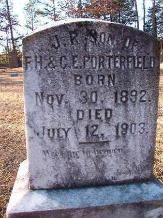PORTERFIELD, J R - Dallas County, Arkansas | J R PORTERFIELD - Arkansas Gravestone Photos