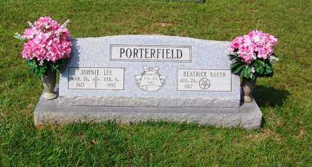 PORTERFIELD, JOHNNIE LEE - Dallas County, Arkansas | JOHNNIE LEE PORTERFIELD - Arkansas Gravestone Photos