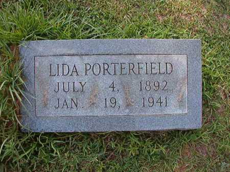 PORTERFIELD, LIDA - Dallas County, Arkansas | LIDA PORTERFIELD - Arkansas Gravestone Photos