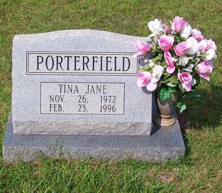 PORTERFIELD, TINA JANE - Dallas County, Arkansas | TINA JANE PORTERFIELD - Arkansas Gravestone Photos