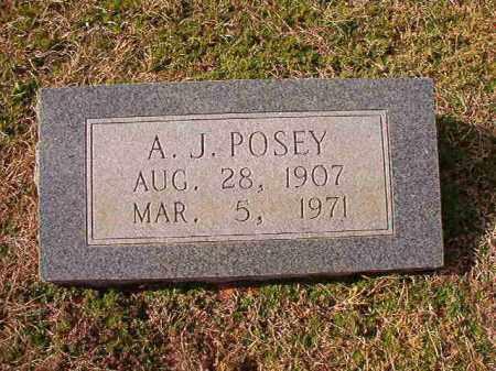 POSEY, A J - Dallas County, Arkansas | A J POSEY - Arkansas Gravestone Photos