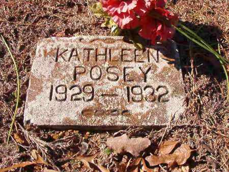 POSEY, KATHLEEN - Dallas County, Arkansas | KATHLEEN POSEY - Arkansas Gravestone Photos