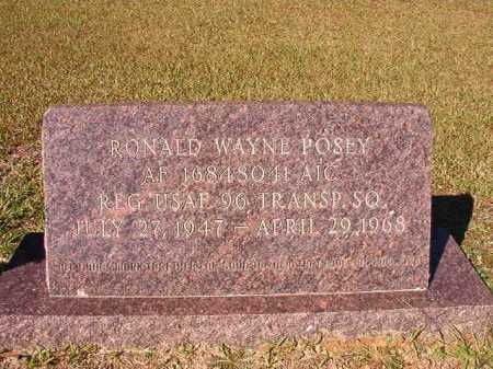 POSEY (VETERAN), RONALD WAYNE - Dallas County, Arkansas | RONALD WAYNE POSEY (VETERAN) - Arkansas Gravestone Photos