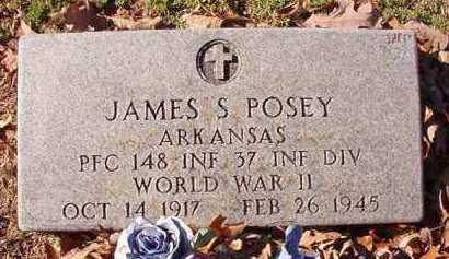 POSEY (VETERAN WWII), JAMES S - Dallas County, Arkansas | JAMES S POSEY (VETERAN WWII) - Arkansas Gravestone Photos