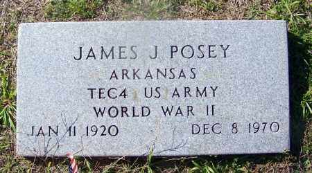POSEY (VETERAN WWII), JAMES J - Dallas County, Arkansas | JAMES J POSEY (VETERAN WWII) - Arkansas Gravestone Photos