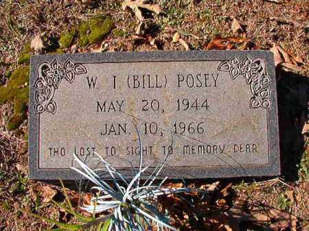 POSEY, W I (BILL) - Dallas County, Arkansas | W I (BILL) POSEY - Arkansas Gravestone Photos