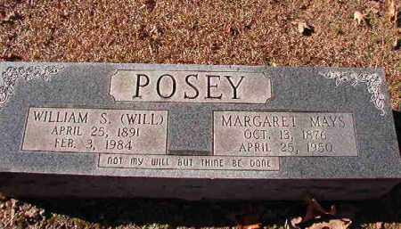 POSEY, WILLIAM S (WILL) - Dallas County, Arkansas | WILLIAM S (WILL) POSEY - Arkansas Gravestone Photos