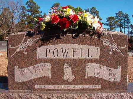 POWELL, JOE DON - Dallas County, Arkansas | JOE DON POWELL - Arkansas Gravestone Photos