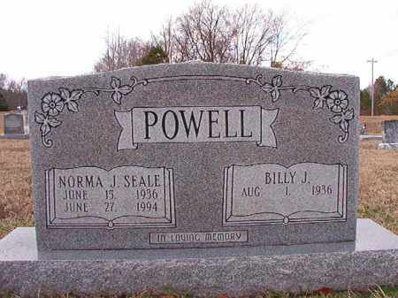 SEALE POWELL, NORMA J - Dallas County, Arkansas | NORMA J SEALE POWELL - Arkansas Gravestone Photos