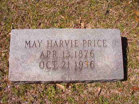 HARVIE PRICE, MAY - Dallas County, Arkansas | MAY HARVIE PRICE - Arkansas Gravestone Photos