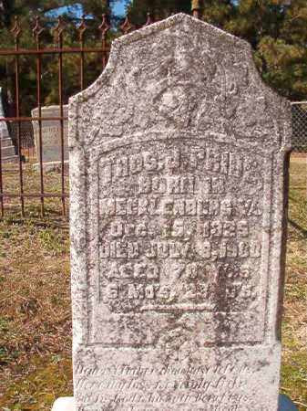 PRIDE, THOS J - Dallas County, Arkansas | THOS J PRIDE - Arkansas Gravestone Photos