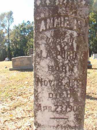 PURDY, ANNIE M - Dallas County, Arkansas | ANNIE M PURDY - Arkansas Gravestone Photos