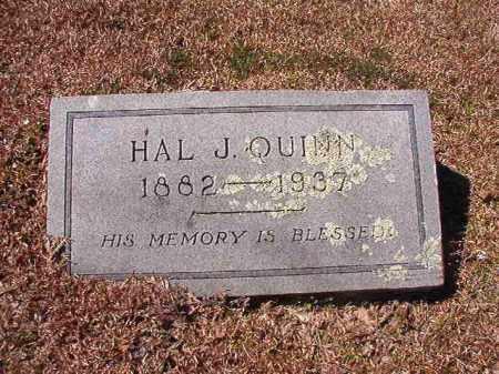 QUINN, HAL J - Dallas County, Arkansas | HAL J QUINN - Arkansas Gravestone Photos