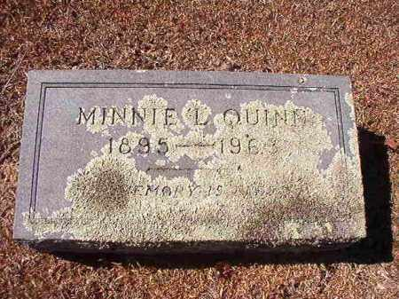 QUINN, MINNIE L - Dallas County, Arkansas | MINNIE L QUINN - Arkansas Gravestone Photos