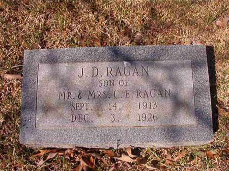 RAGAN, J D - Dallas County, Arkansas | J D RAGAN - Arkansas Gravestone Photos