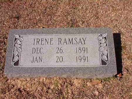 RAMSAY, IRENE - Dallas County, Arkansas | IRENE RAMSAY - Arkansas Gravestone Photos