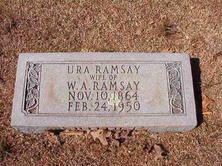RAMSAY, URA - Dallas County, Arkansas | URA RAMSAY - Arkansas Gravestone Photos