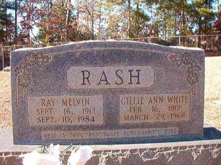 RASH, RAY MELVIN - Dallas County, Arkansas | RAY MELVIN RASH - Arkansas Gravestone Photos