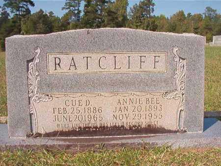 RATCLIFF, CUE D - Dallas County, Arkansas | CUE D RATCLIFF - Arkansas Gravestone Photos