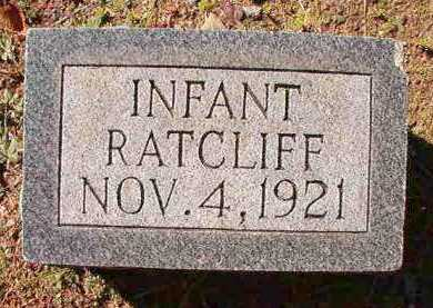 RATCLIFF, INFANT - Dallas County, Arkansas | INFANT RATCLIFF - Arkansas Gravestone Photos
