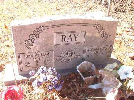 "RAY, JOHN WILLIAM ""JACK"" - Dallas County, Arkansas 