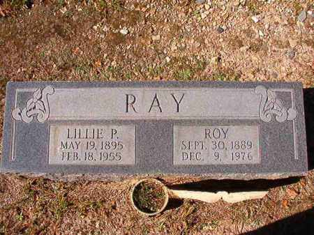 RAY, LILLIE P - Dallas County, Arkansas | LILLIE P RAY - Arkansas Gravestone Photos