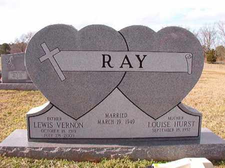 RAY, LEWIS VERNON - Dallas County, Arkansas | LEWIS VERNON RAY - Arkansas Gravestone Photos
