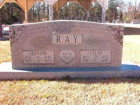 RAY, LEONARD - Dallas County, Arkansas | LEONARD RAY - Arkansas Gravestone Photos