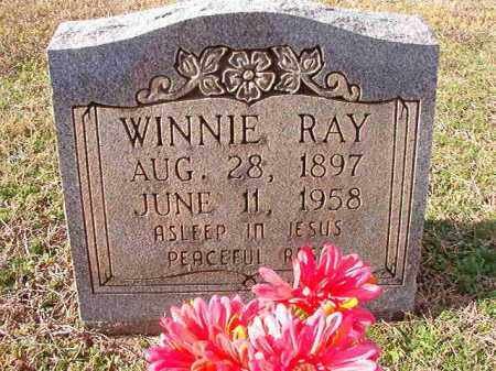 RAY, WINNIE - Dallas County, Arkansas | WINNIE RAY - Arkansas Gravestone Photos